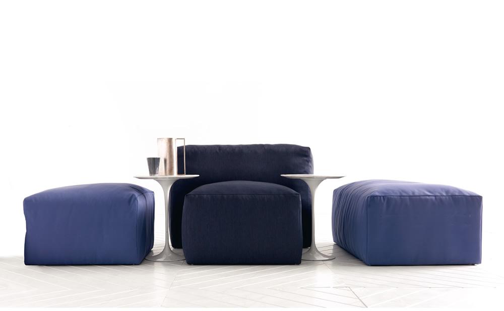 Esedra design xxl è un sistema di sedute con calamite